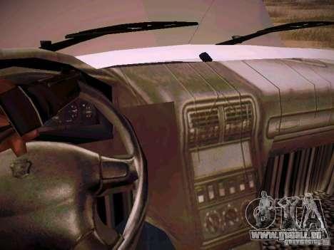 GAZ 310231 Urgent pour GTA San Andreas vue de côté