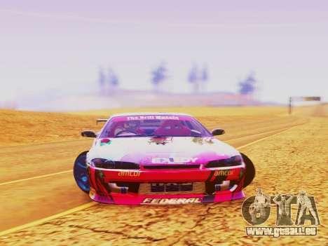 Nissan Silvia S15 EXEDY RACING TEAM pour GTA San Andreas vue de droite