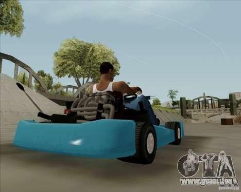 Kart pour GTA San Andreas laissé vue