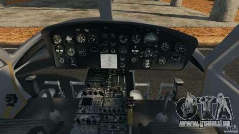 Bell UH-1 Iroquois pour GTA 4 Vue arrière