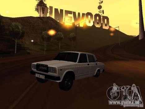 VAZ 2107 plein azéri pour GTA San Andreas