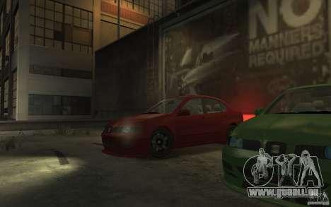 Seat Toledo 1.9TDi Sedan für GTA 4 rechte Ansicht