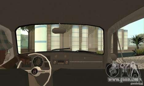 Volkswagen Beetle 1963 pour GTA San Andreas vue de droite