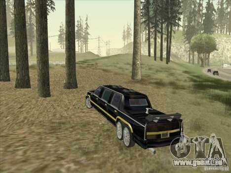 Limousine pour GTA San Andreas vue de droite