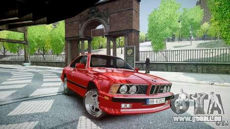 BMW M6 v1 1985 pour GTA 4