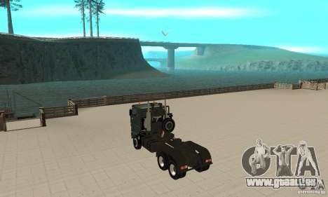 KAMAZ 65226 Tai v1.1 pour GTA San Andreas vue de droite