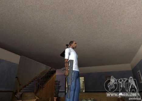 QCW-05 pour GTA San Andreas troisième écran