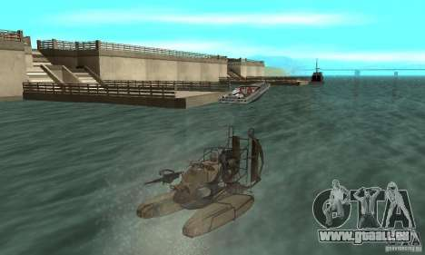 HL2 Airboat pour GTA San Andreas
