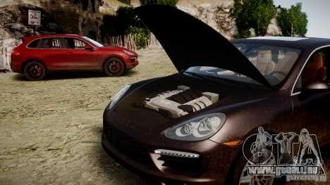 Porsche Cayenne Turbo 2012 für GTA 4 hinten links Ansicht