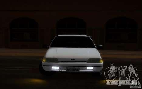 Ford Versailles 1992 pour GTA San Andreas vue intérieure