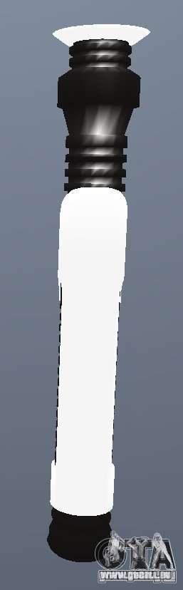 Lightsabre v2 Brassknuckle pour GTA San Andreas deuxième écran