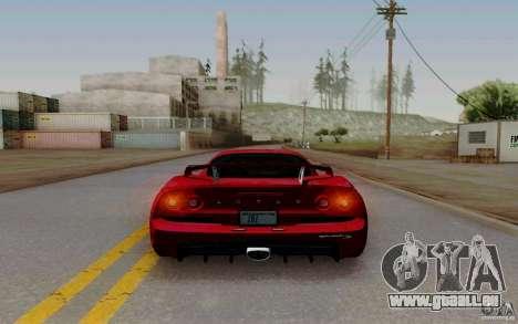 Lotus Exige S V1.0 2012 pour GTA San Andreas sur la vue arrière gauche
