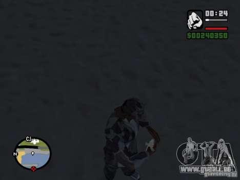 The present fishing mod V1 für GTA San Andreas zweiten Screenshot