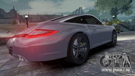 Porsche Targa 4S 2009 für GTA 4 rechte Ansicht