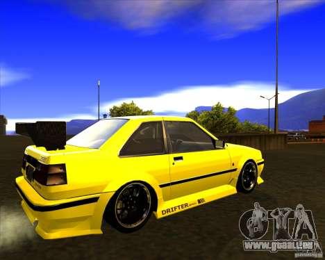 GTA VI Futo GT custom pour GTA San Andreas sur la vue arrière gauche