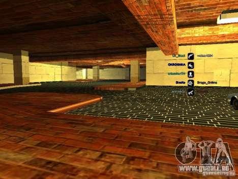 Neue Garage für SFPD für GTA San Andreas dritten Screenshot