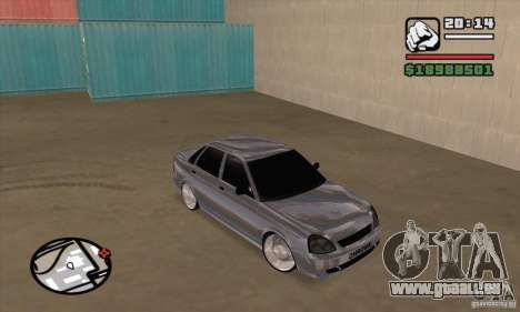 LADA 2170 Chrome pour GTA San Andreas