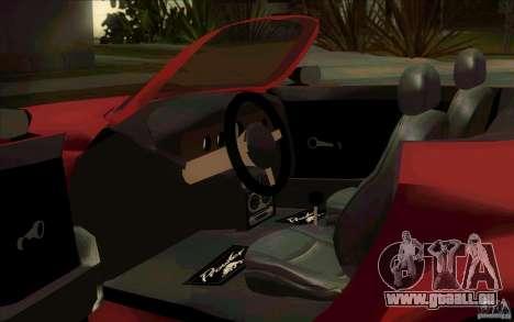 Plymouth Prowler für GTA San Andreas Rückansicht