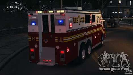FDNY Rescue 1 [ELS] pour GTA 4 est une vue de dessous