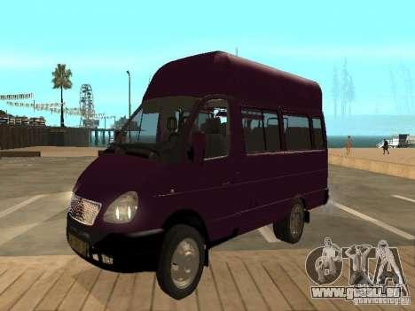 Gazelle 32213 taxi für GTA San Andreas