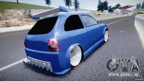 Chevrolet Corsa Extreme Revolution pour GTA 4 Vue arrière de la gauche