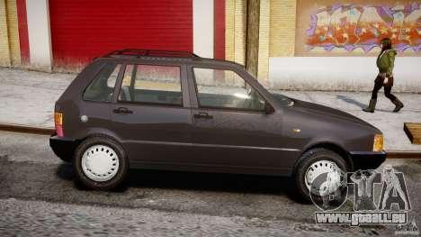 Fiat Uno 70SX 1989-1993 für GTA 4 linke Ansicht