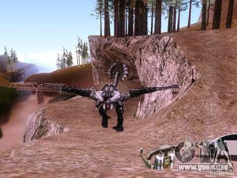 Dragon v2. 0 für GTA San Andreas dritten Screenshot