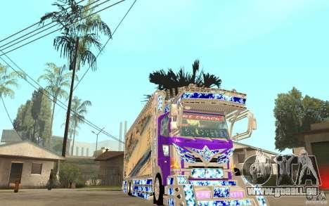 ART TRACK für GTA San Andreas Rückansicht