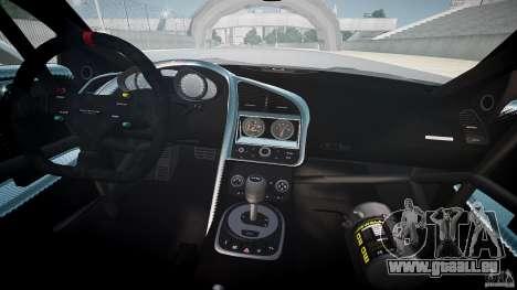 Audi R8 für GTA 4 obere Ansicht