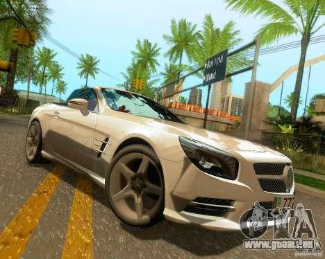 Mercedes-Benz SL350 2013 pour GTA San Andreas roue