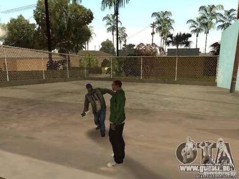 Comportement des autres gens pour GTA San Andreas