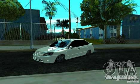 Lada 2190 Granta pour GTA San Andreas laissé vue