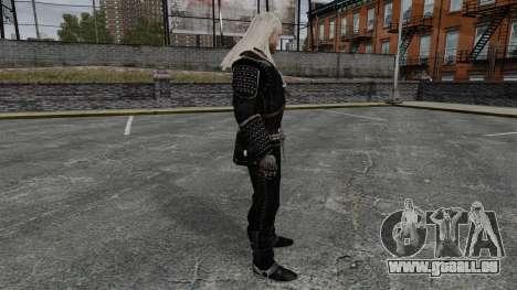 Geralt von Riva v7 für GTA 4 Sekunden Bildschirm