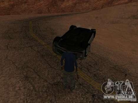 Umgestürzten Autos brennen nicht für GTA San Andreas achten Screenshot