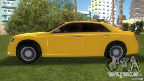 Lancia Nuova Thema pour GTA Vice City sur la vue arrière gauche