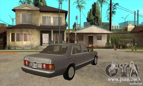 Mercedes Benz W126 560 v1.1 pour GTA San Andreas vue de droite