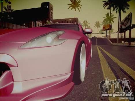 Nissan 370Z Fatlace pour GTA San Andreas moteur