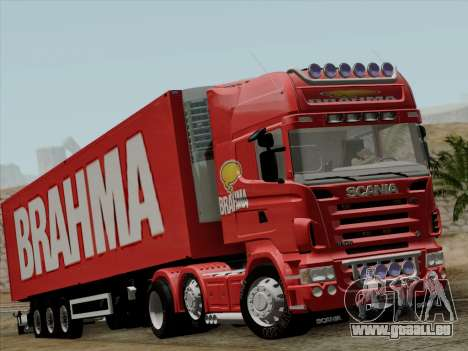Scania R620 Brahma für GTA San Andreas linke Ansicht