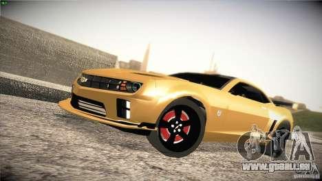 Chevrolet Camaro SS Transformers 3 pour GTA San Andreas
