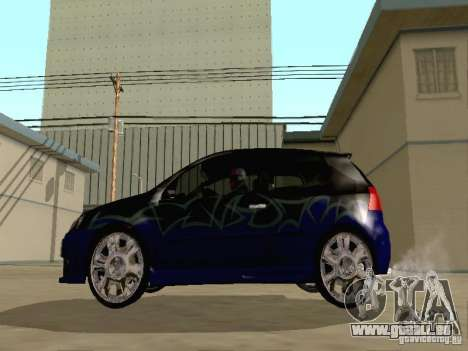 Volkswagen Golf V GTI pour GTA San Andreas vue de côté
