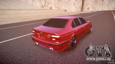 BMW M5 E39 Hamann [Beta] pour GTA 4 vue de dessus