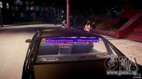 Chevrolet Caprice FBI v.1.0 [ELS] für GTA 4-Motor