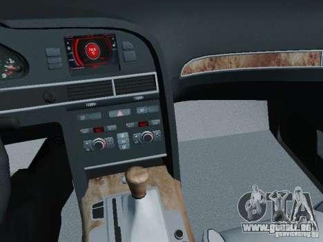 Audi A6 Police pour GTA San Andreas vue de côté