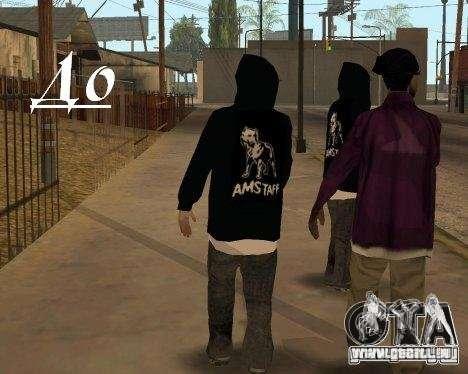 Vêtements avec Victor Coem pour GTA San Andreas troisième écran