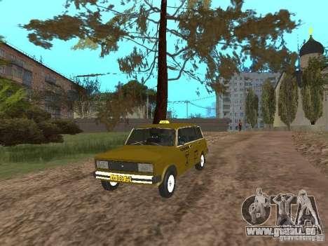 VAZ 2104 Taxi pour GTA San Andreas