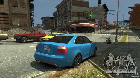 Audi S4 2000 für GTA 4 obere Ansicht