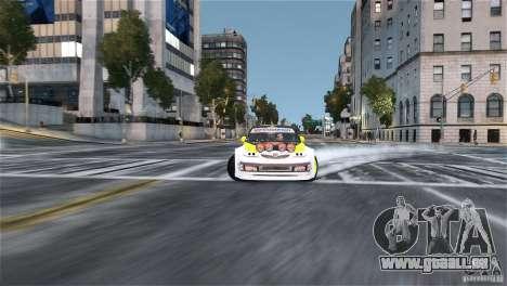 Subaru Impreza WRX STI Rallycross Monster Energy für GTA 4 Rückansicht