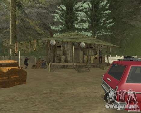 Lors d'une visite à grand-mère pour GTA San Andreas cinquième écran