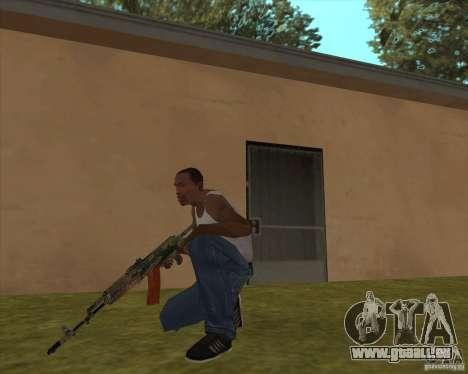 AK-74 mit der Textur von Metro 2033 für GTA San Andreas