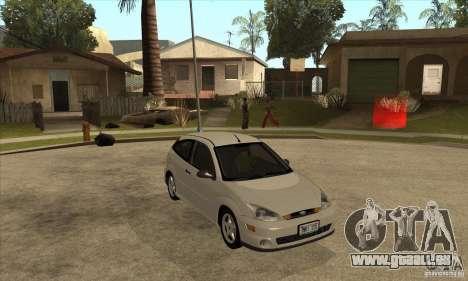 Ford Focus SVT pour GTA San Andreas vue arrière